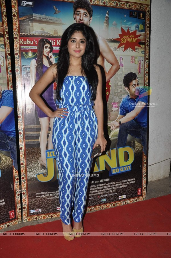 Kritika Kamra was seen at the Special Screening of Kuku Mathur Ki Jhand Hogayi