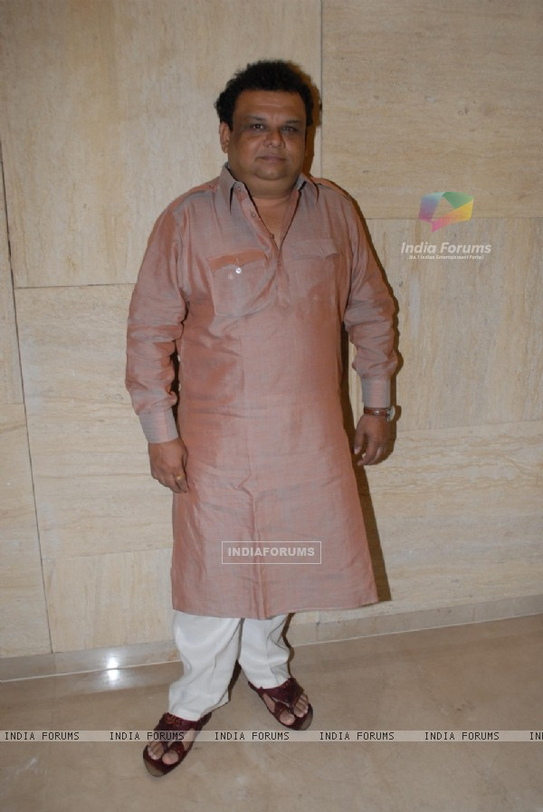 Atul Parchure was at the Music launch of Marathi Film Lai Bhari