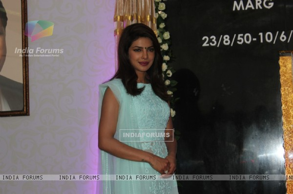 Priyanka Chopra at the Inauguration of the Lt. Col Dr. Ashok Chopra Marg
