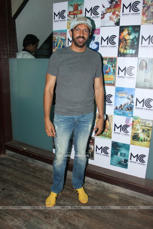 Kabir Khan was seen at the Launch of Mukesh Chhabra casting studio