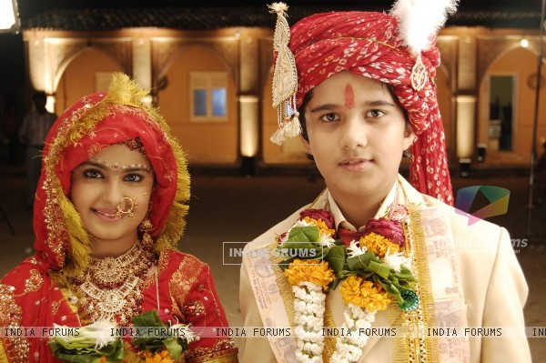 Anandi and Jagdish in Balika Vadhu