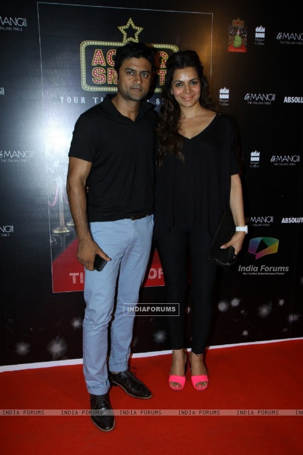 Manav Gohil and Shweta Kawatra at the Success of Tisca Chopra's book, Acting Smart