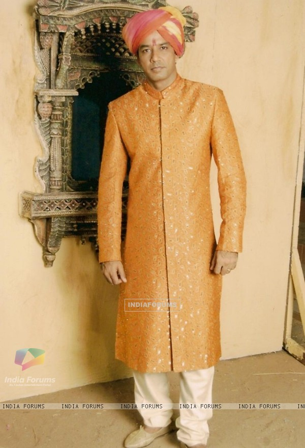 A still image of Bhairav in the show Balika Vadhu