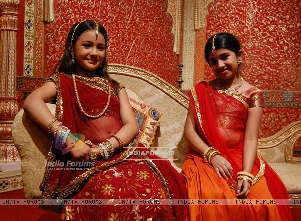 Meera and Lalita in the show Meera