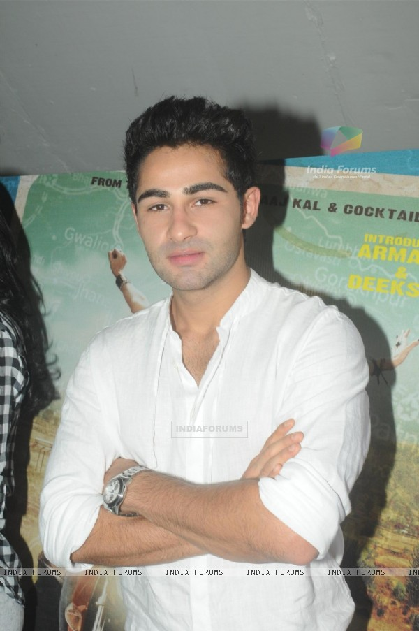 Armaan Jai at Promotion of 'Lekar Hum Deewana Dil'