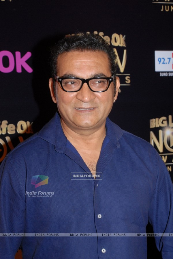 Abhijeet Bhattacharya at Life OK Now Awards .