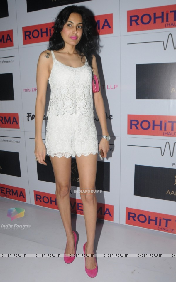 Kamya Punjabi at Rohhit Verma  club wear collection launch