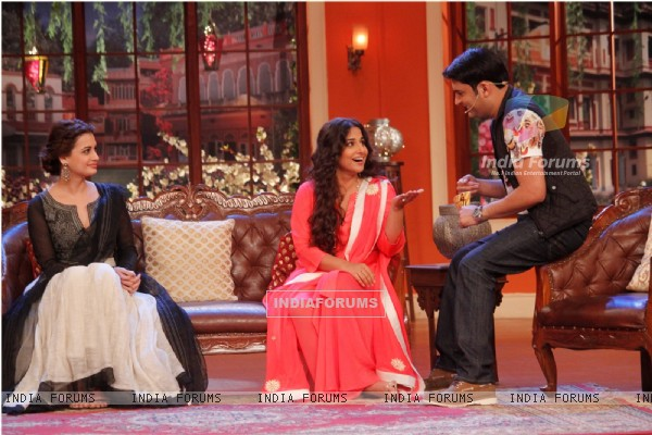 Promotions of Bobby Jasoos on Comedy Nights With Kapil