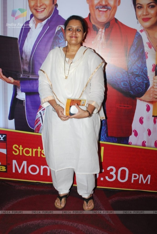 Supriya Pathak at tha launch of Sab TV's Tu Mera Agal Bagal Mein Hain