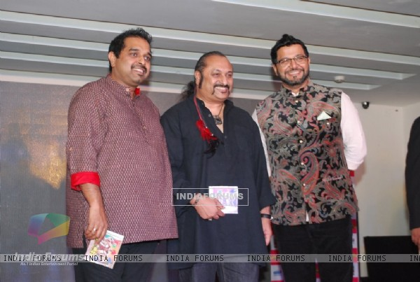 Shankar Mahadevan with Leslie Poshter Boyz Launch at Levo
