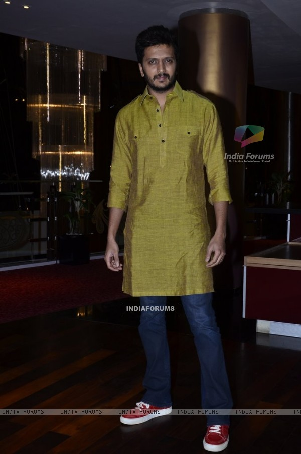 Riteish Deshmukh at Success Party of Humshakals