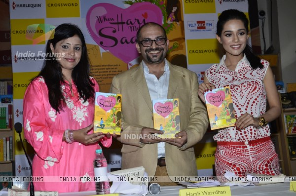 Harsh Warrdhan and Amrita Rao at the  Book Launch of 'When Hari Met His Saali'