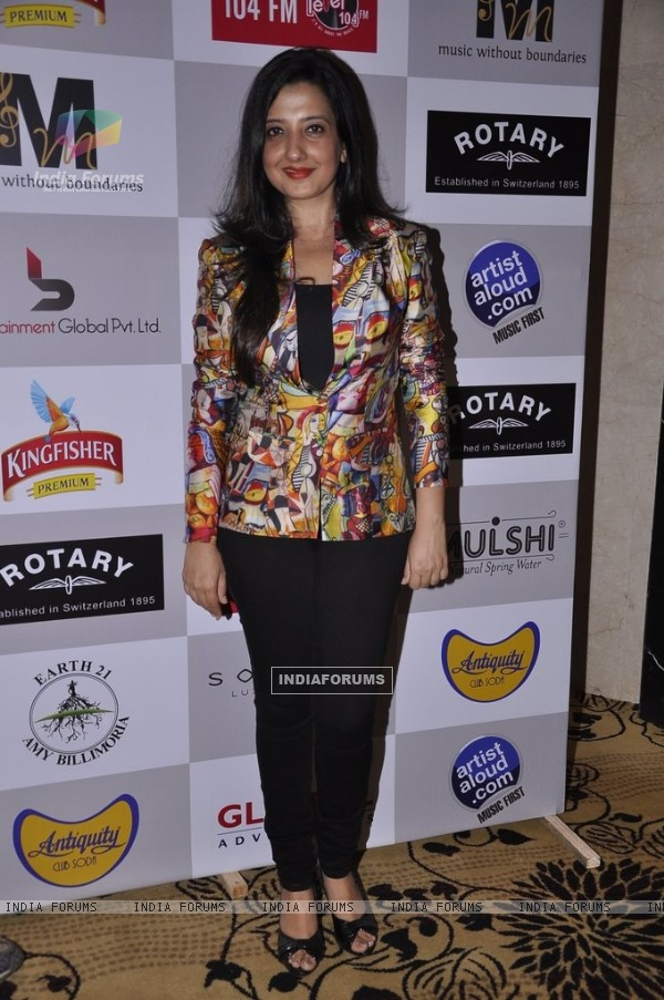 Amy Billimoria at the Music Mania Event