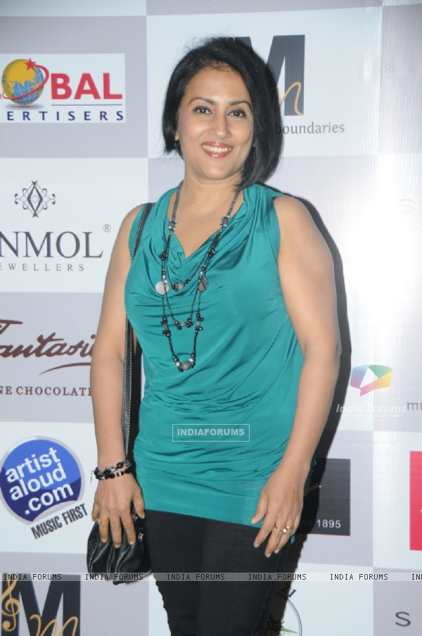 Madhushree at the Music Mania Event