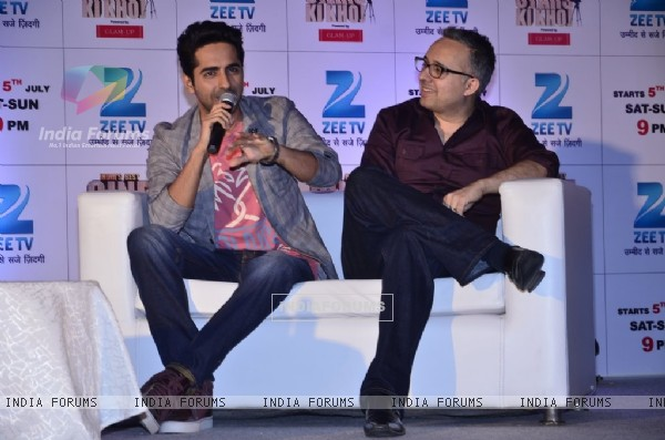 Ayushmann Khurrana addresses Press Conference of India's Best Cinestars Ki Khoj
