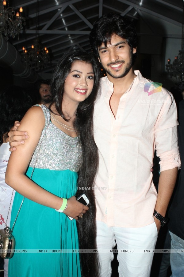 Digangana with Shivin Narang at the party