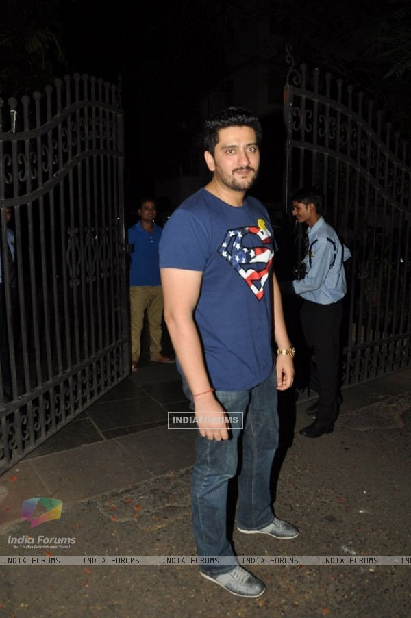 Shaad Randhawa at the success party of Ek Villain