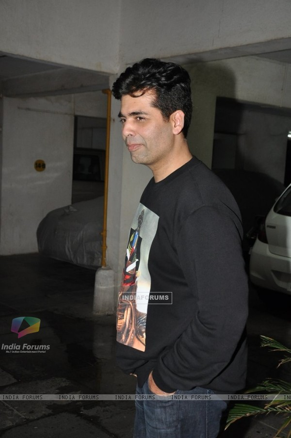 Karan Johar at the success party of Ek Villain