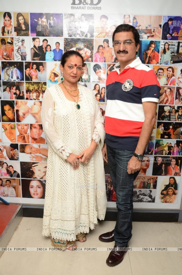 Bharat & Dorris Godambe at the Event