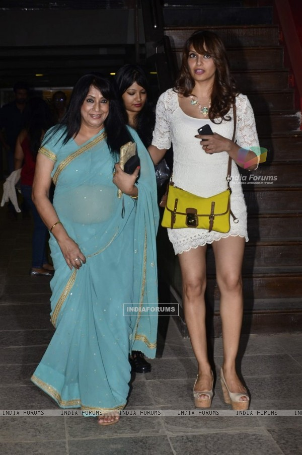 Bipasha snapped as she arrives for a private dinner for her Father