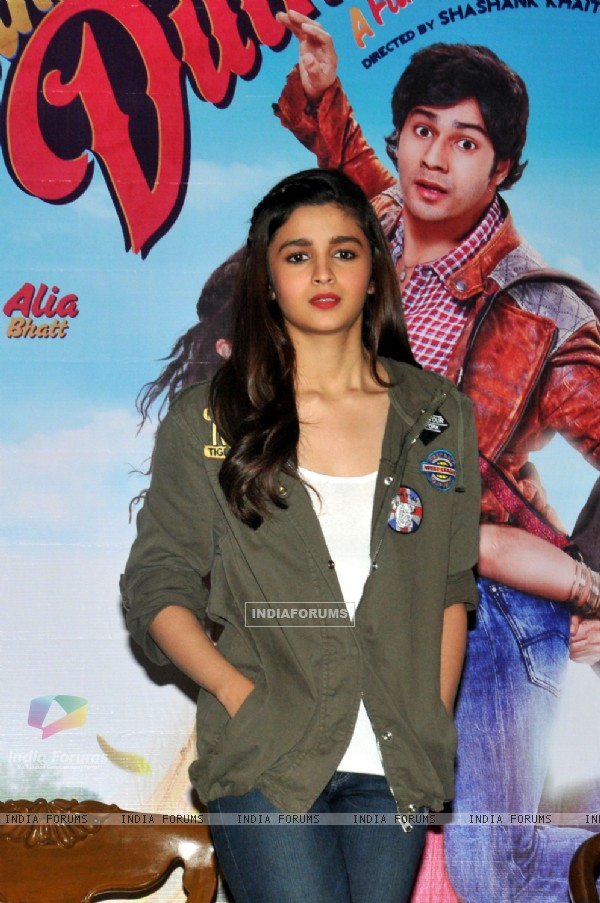 Alia Bhatt was at the Promotion of Humpty Sharma Ki Dulhania at Kolkata