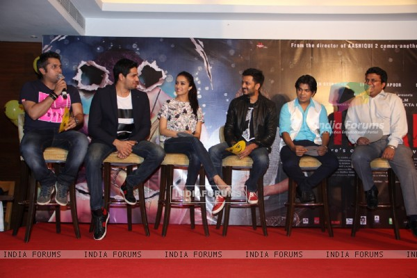 Press Conference of the Success Party of Ek Villain