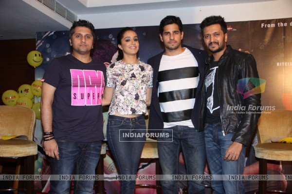Success Party of Ek Villain with its team