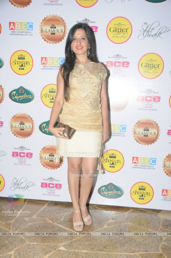 Amy Billimoria at the Dinner night for eminent Jewelers midst celebrities