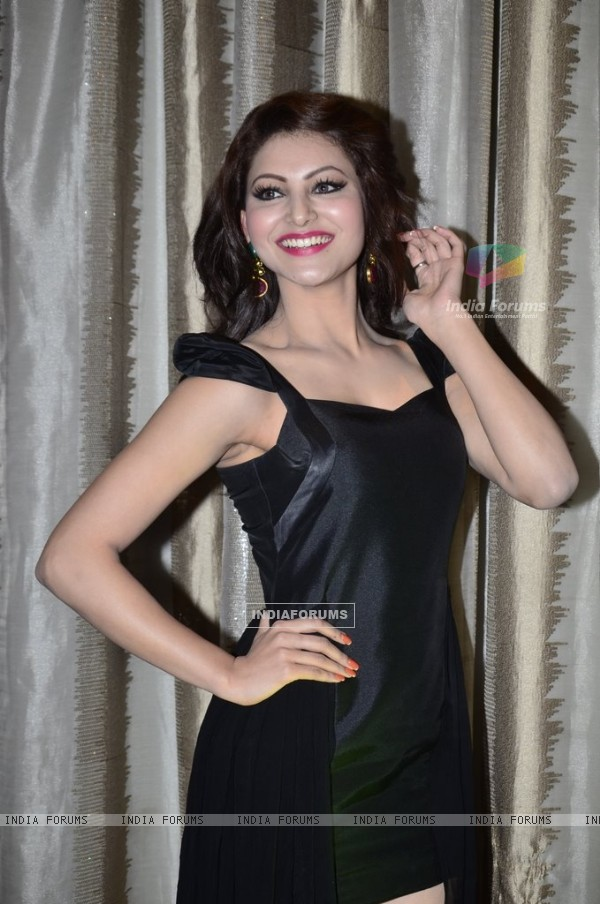 Urvashi Rautela was seen at the FHM Sexiest Women party