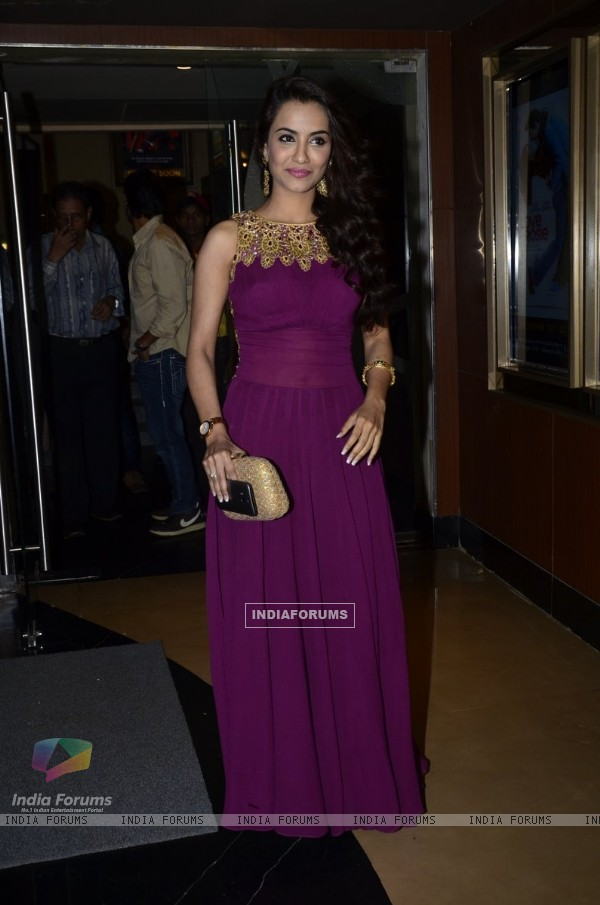 Twinkle Bajpai at the Launch of Desi Kattey
