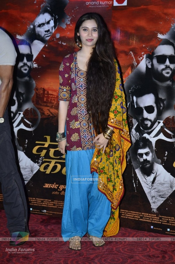 Sasha Agha at theLaunch of Desi Kattey
