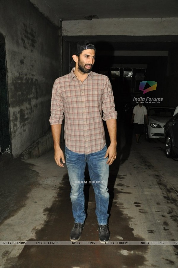 Aditya Roy Kapur at Special screening of Bobby Jasoos