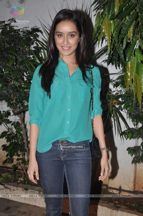 Shraddha Kapoor at Success Bash of Ek Villain