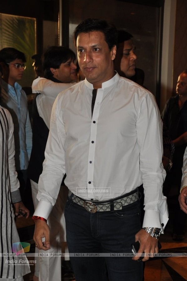 Madhur Bhandarkar was spotted at Baba Siddiqie's Iftar Party