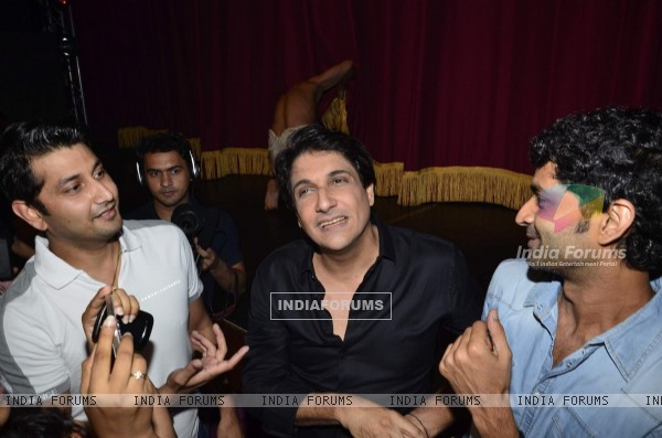 Shiamak Davar with Marzi Pestonji and Purab Kohli