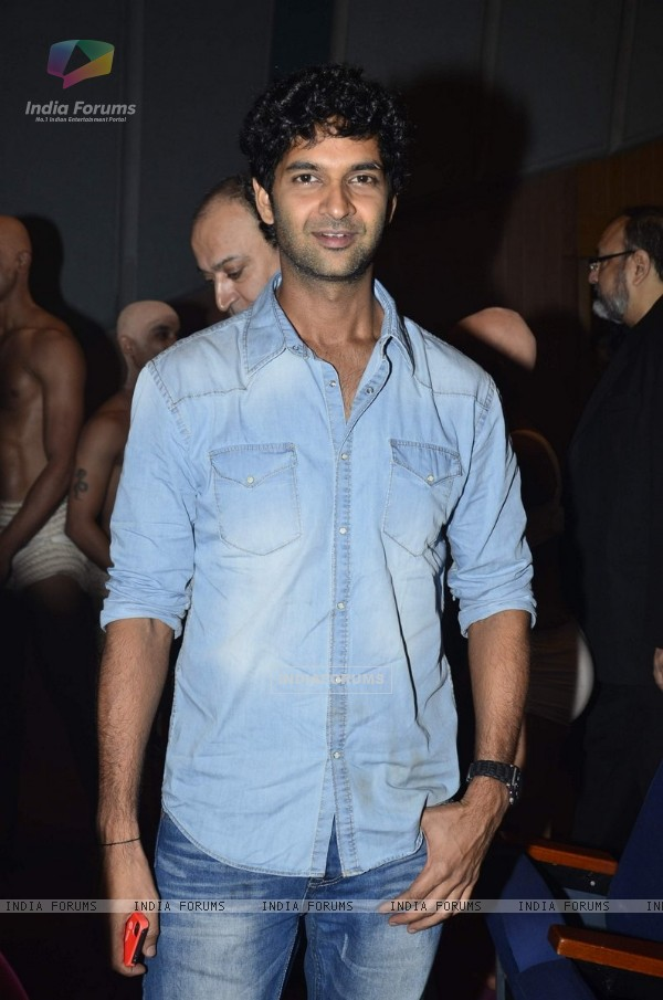 Purab Kohli was spotted at Shiamak Dawar's Dance show