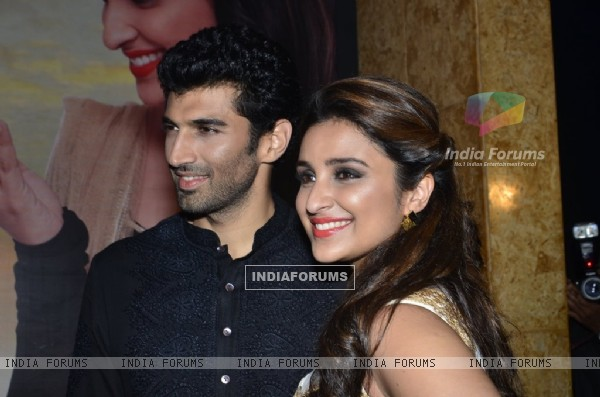Parineeti Chopra and Aditya Roy Kapoor promote Daawat-e-Ishq