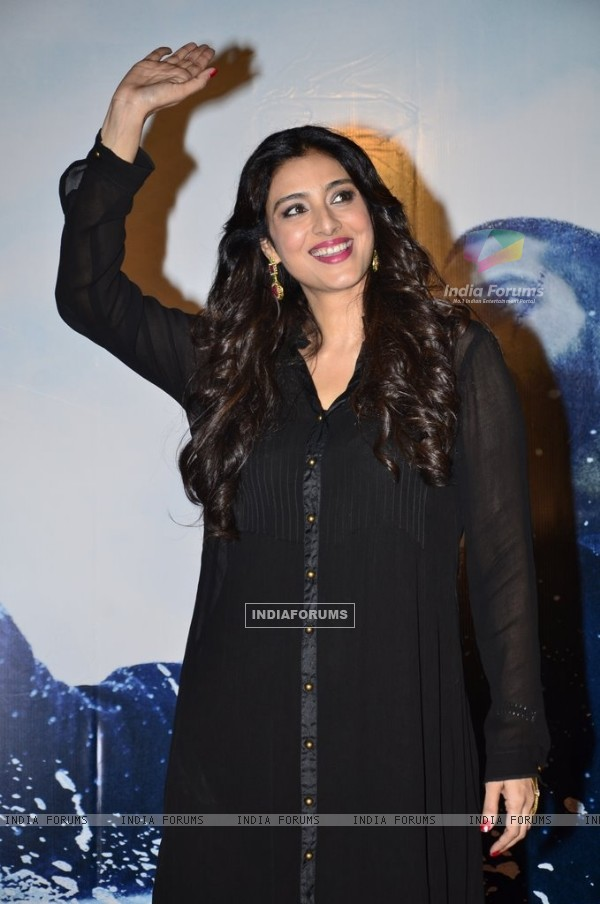 Tabu Hashmi addressing to media at the Trailer Launch of Haider