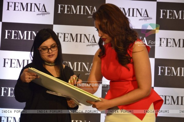 Huma Qureshi launched Femina edition 'My Body, My Rule'