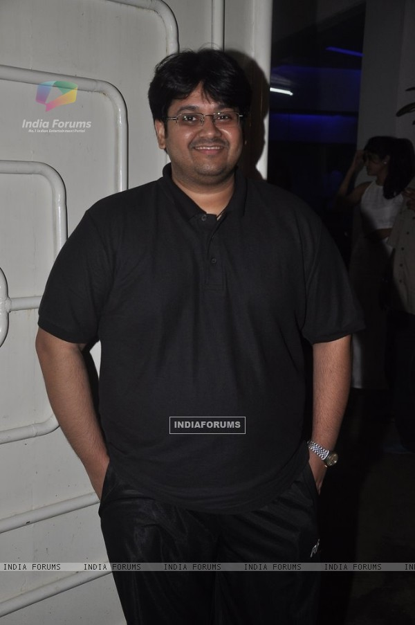 Tushar Hiranandani was spotted at the Screening of Lai Bhari