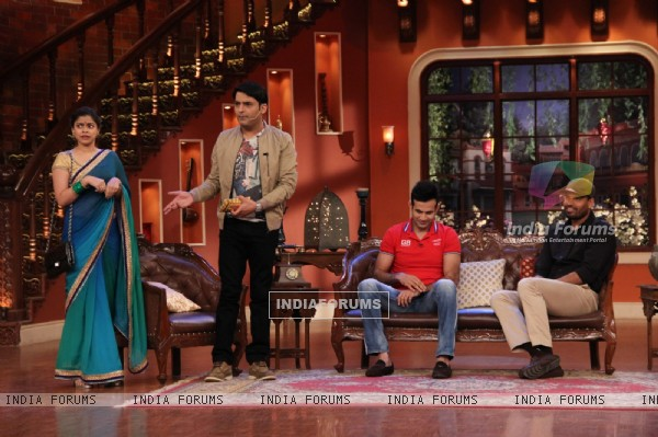Irfan and Yusuf Pathan on Comedy Nights with Kapil