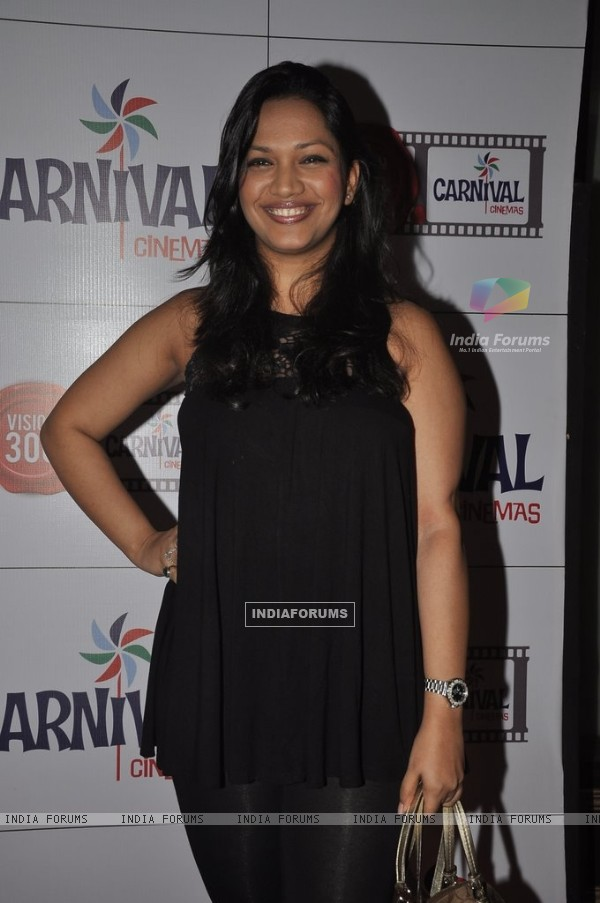 Mansi Verma at the Launch of Carival Cinemas