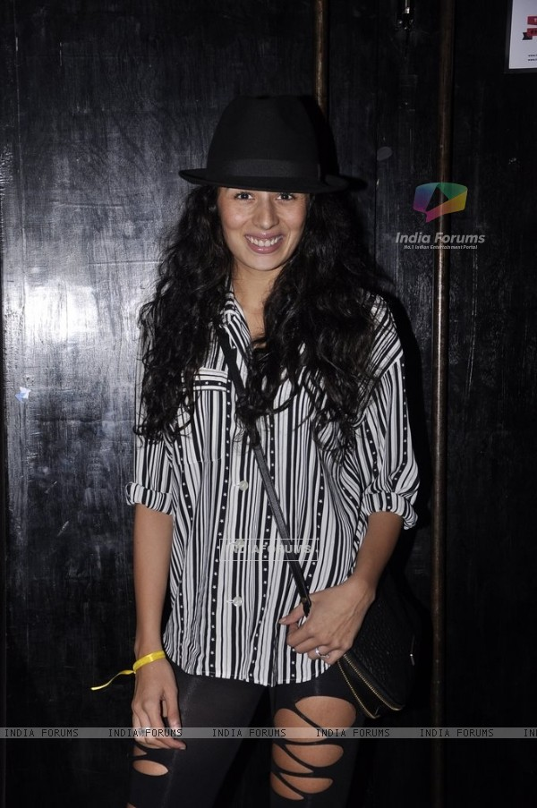 Pia Trivedi poses for the camera at the Little Shilpa Shopcade app launch