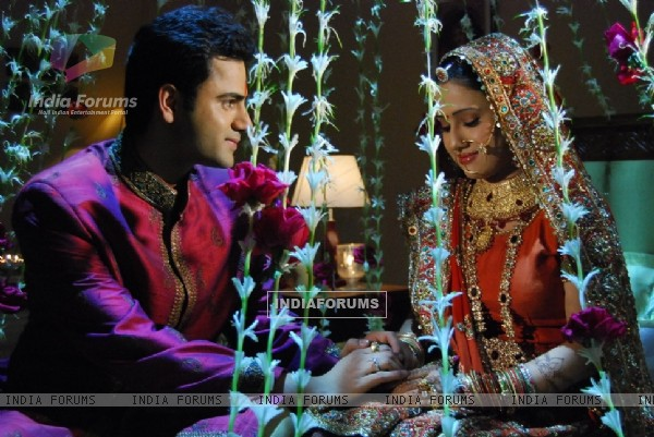 Shaurya and Varsha in YRKKH
