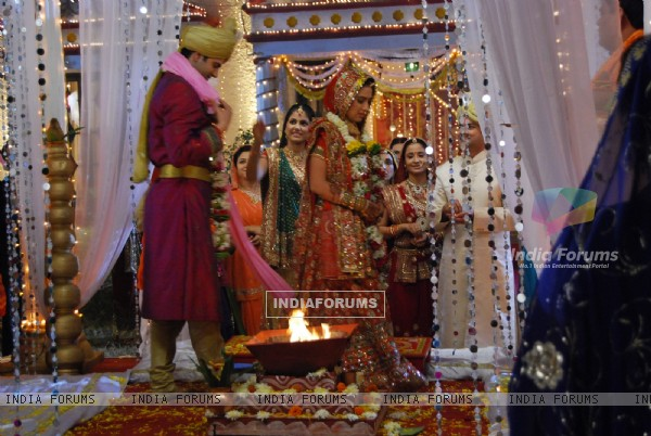 Marriage Still of Varsha and Shaurya