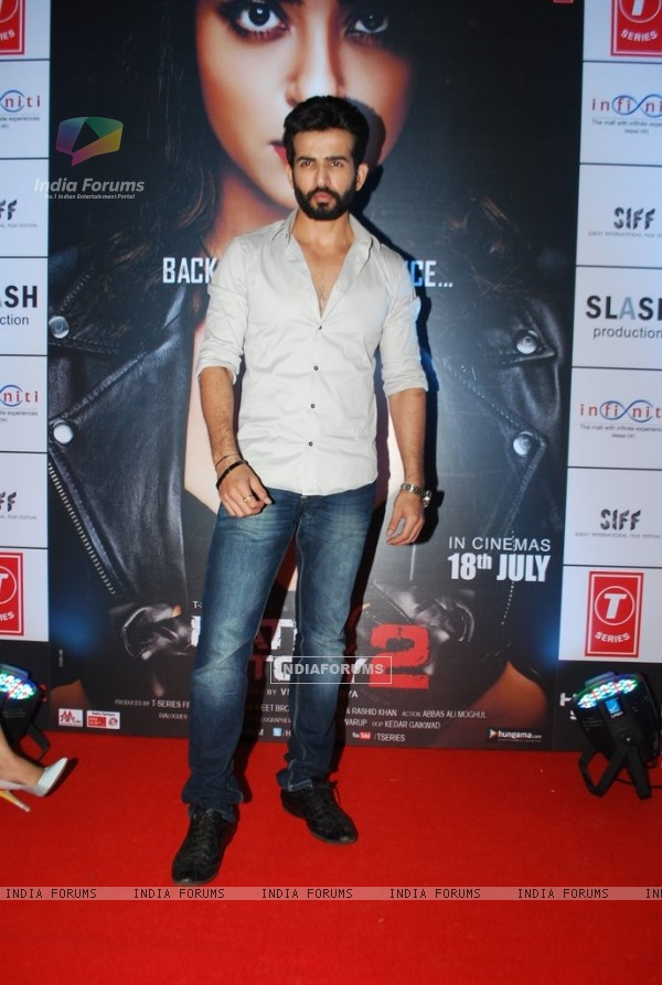Jay Bhanushali was at the Promotions of Hate Story 2