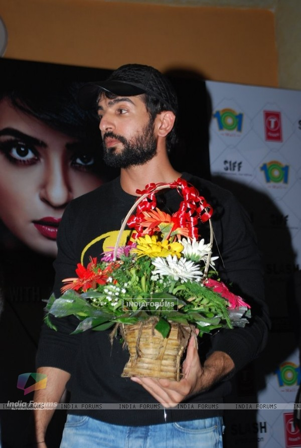 Jay Bhanushali felicitated at the Hate Story 2 Promotions
