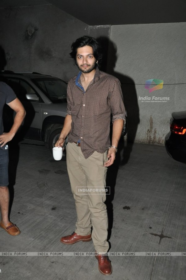Ali Fazal was spotted at the Screening of Amit Sahni Ki List