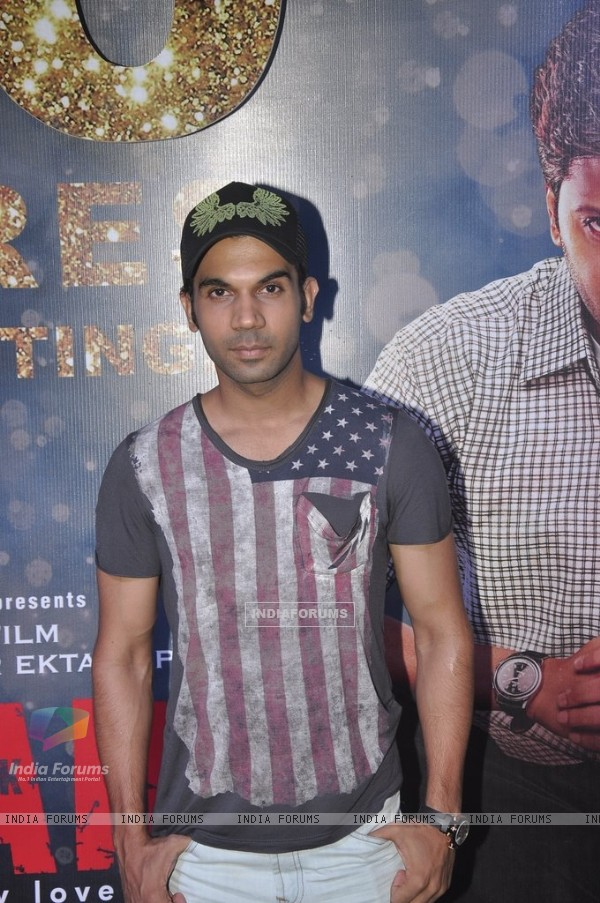 Rajkummar Rao at the Success Bash of Ek Villain