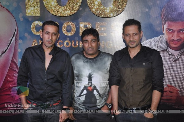 Meet Brothers along with Anjjan at the Success Bash of Ek Villain